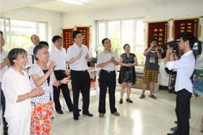 刘润璞会长带领调研组到吉林市调研失能老人生活状况
